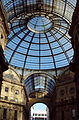 Glass dome - Galleria Vittorio Emanuele II - Milan 2014.jpg