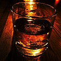 Glass of Noah's Mill bourbon. One word...delicious. (14369651414).jpg