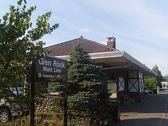 Glen Rock, New Jersey - The Glen Rock Main Line station