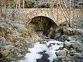 Glengeoullie Bridge over Rieriach Burn, Nairnshire.jpg