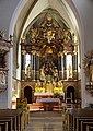 Gmunden - Stadtpfarrkirche, Altar.jpg