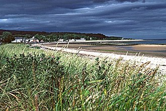 Golspie - Looking over the beaches to Golspie