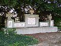 Gonesse (95), cimetière, rue du Thillay, monument des 122 soldats allemands tombés en 1870, érigé en 1940.jpg