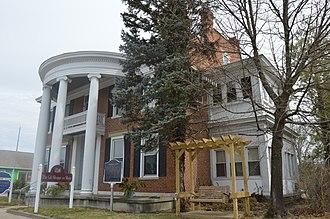 John Hanson Farquhar - Farquhar's home in Brookville