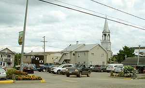 Gracefield, Quebec - Image: Gracefield QC 1