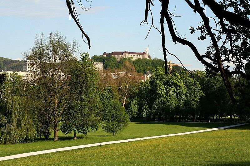 grad+tivoli=essence of Ljubljana