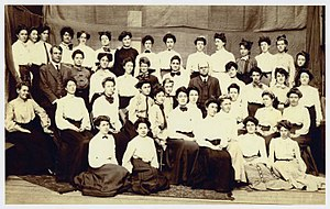 San Francisco State University - Graduating class, State Normal School at San Francisco, June 1906