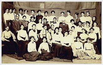 San Francisco State University - Graduating class, State Normal School at San Francisco, June 1906