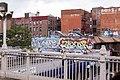 Graffiti on Jackson Heights buildings.jpg
