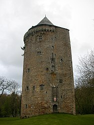 Vestige of the old Château de Grand-Fougeray