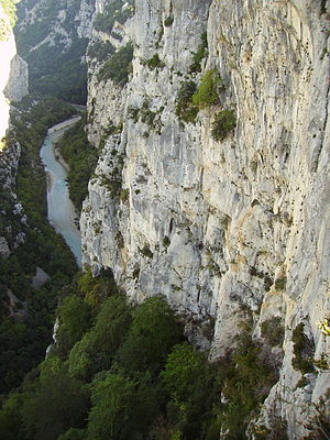 Verdon (river) - Verdon Gorge