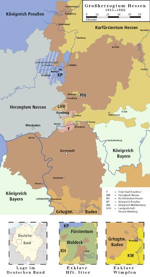 Hessen-Darmstadt 1815–1866
