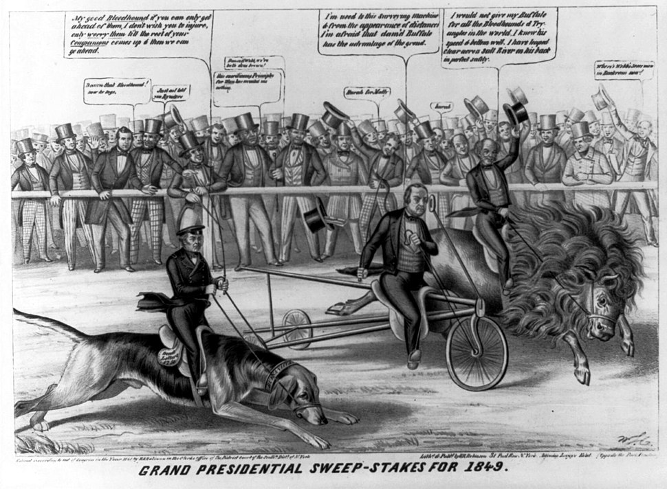 Grand Presidential sweep-stakes for 1849