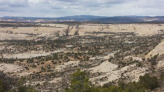 Grand Staircase - View from Utah Highway 12 of Grand Staircase-Escalante National Monument
