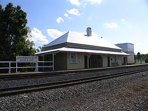 Lockyer Valley - Grandchester railway station