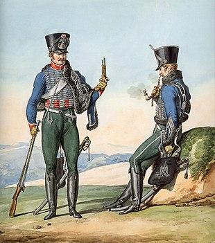 Grande Armée - 1st Regiment of Hussars