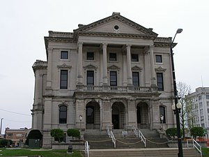 Grant County Courthouse in Marion, Indiana