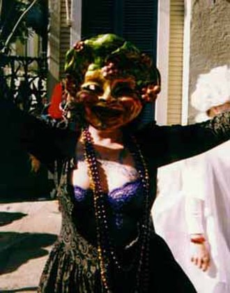 French Quarter Mardi Gras costumes - Masker, French Quarter