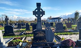 Joe Dolan - Grave of Joe Dolan at Walshestown Cemetery, Mullingar