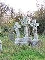 Gravestones at St Oswald's Church, Lythe - geograph.org.uk - 593078.jpg