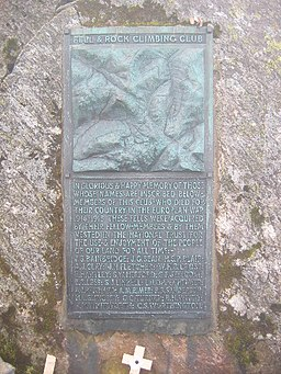 Great Gable - Summit Plaque - geograph.org.uk - 16889