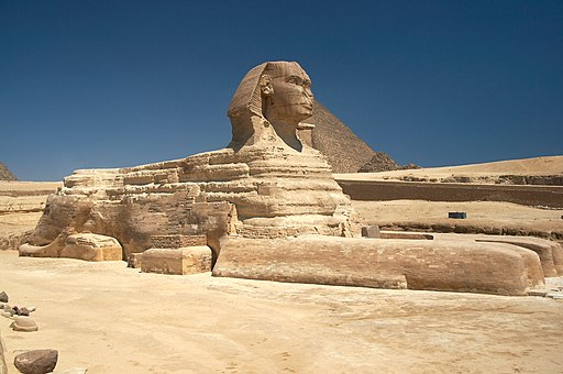 Great Sphinx of Giza - 20080716a