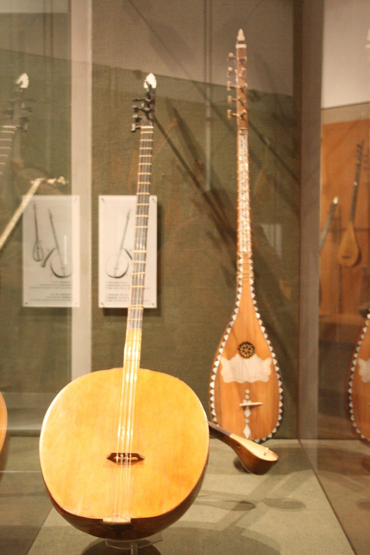 Greek Musical Instruments Tambur