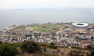 Green Point Common - Green Point Common, seen from Signal Hill
