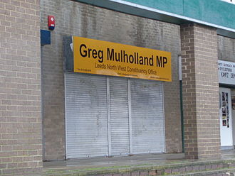 Greg Mulholland - Greg Mulholland's constituency surgery at the Holt Park District Centre in North Leeds.