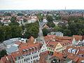 Greifswald Mühlentor-vom-Turm-der-St.-Marien-Kirche-gesehen Sept-2011 SL276711.JPG