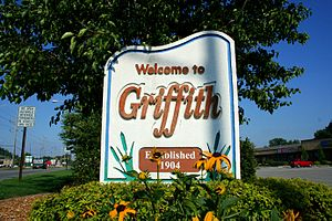 Griffith, Indiana - Image: Griffith IN