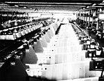 Grumman F6F-5 production line Bethpage plant 1944 (GHC via RJF) (18356660251).jpg