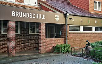 "Primary education - Elementary school (""Grundschule"") in Treia (Germany)."