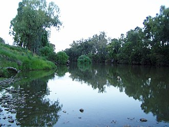Gwydir River - Gwydir River, downstream from Pallamallawa