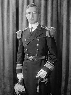 Thomas C. Hart admiral of the United States Navy and United States Senator