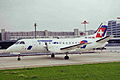 HB-AKK SF.340B Crossair ZRH 28AUG99 (6923683435).jpg