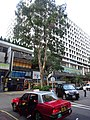 HK 尖沙咀東 TST East Mody Square 半島中心 Peninsula Centre tree n taxi October 2016 DSC.jpg