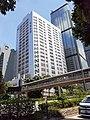 HK 金鐘 Admiralty 夏慤道 Harcourt Road Gloucester Road footbridge Telecome House September 2020 SS2 10.jpg