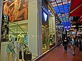 HK CWB night Kingston Street clothing shop Guess Mar-2013.JPG