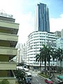 HK Chai Wan MTR Station view Factory Estate 07 facade Kut Shing Street Sept-2012 Shell Industrial Building.JPG