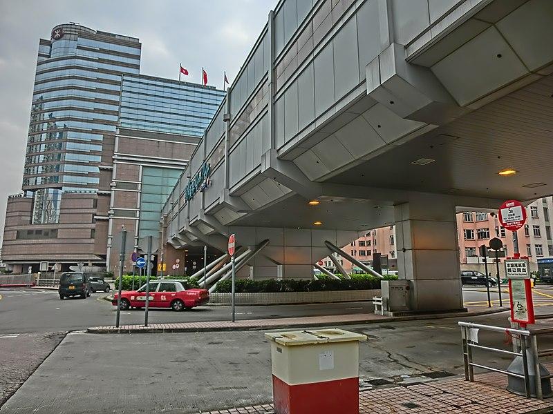 File:HK Kln Bay Telford Plaza Public Trasport Interchange PTI view footbridge Nov-2013.JPG