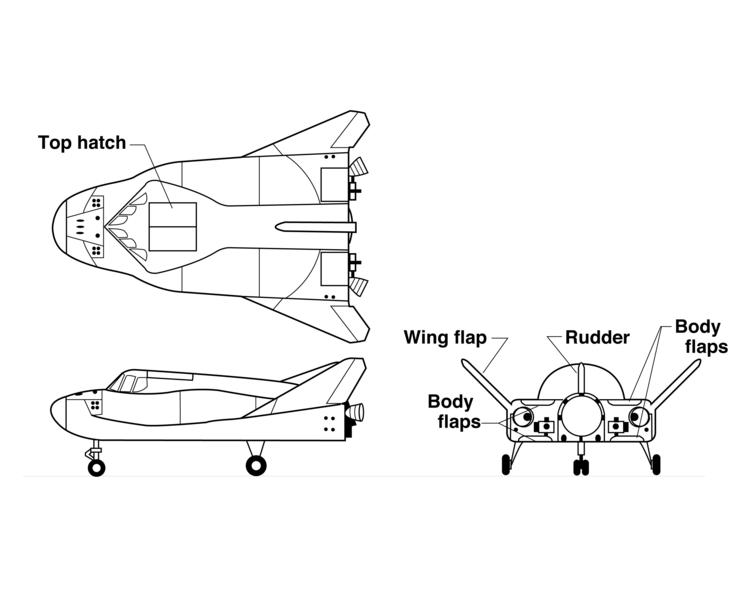 Transport d'équipage par le secteur privé (Commercial Crew) - Page 4 751px-HL-20_Diagram