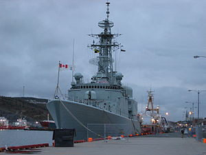 Canada and the Iraq War - Image: HMCS Iroquois