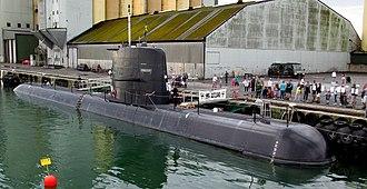 Swedish Navy - Image: HMS Gotland Ystad 2015