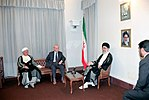 Hafez al-Assad visit to Iran, 1 August 1997 (10).jpg