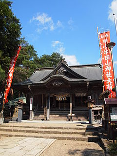 Haiden of Kogota Yamanokamisha shrine 5.JPG