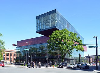 Library - The Halifax Central Library, a modern city library