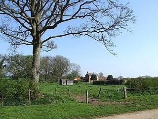 Claxby Pluckacre village in United Kingdom