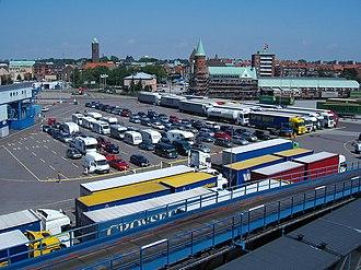 Trelleborg - Image: Hamn Trelleborg
