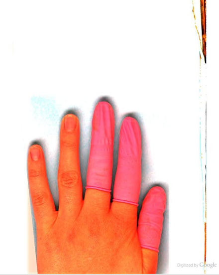 A hand scanned in a Google book Hand of Google.png